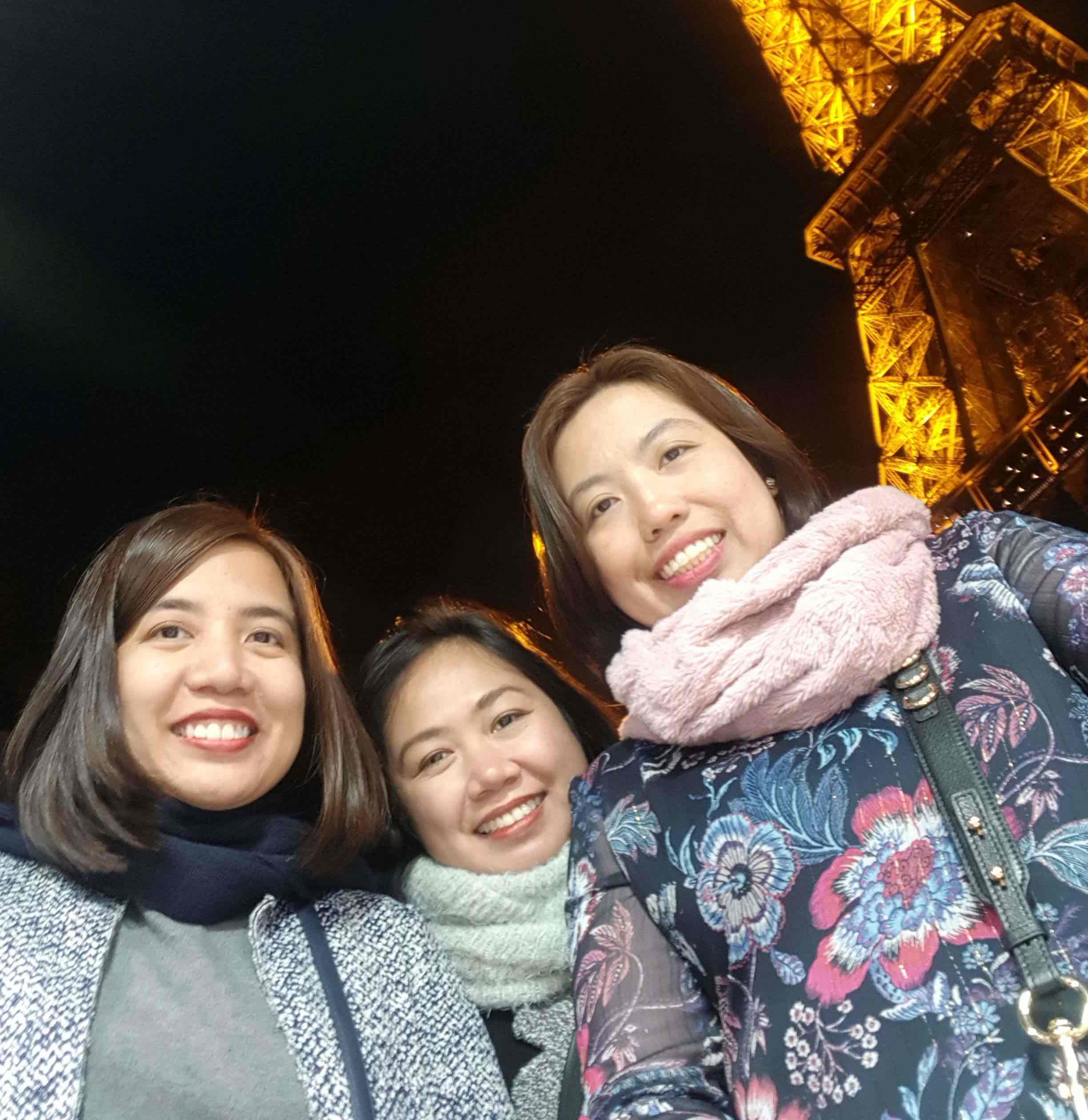 Mich, Iris and Nerie Finds Their Happy Place in Europe