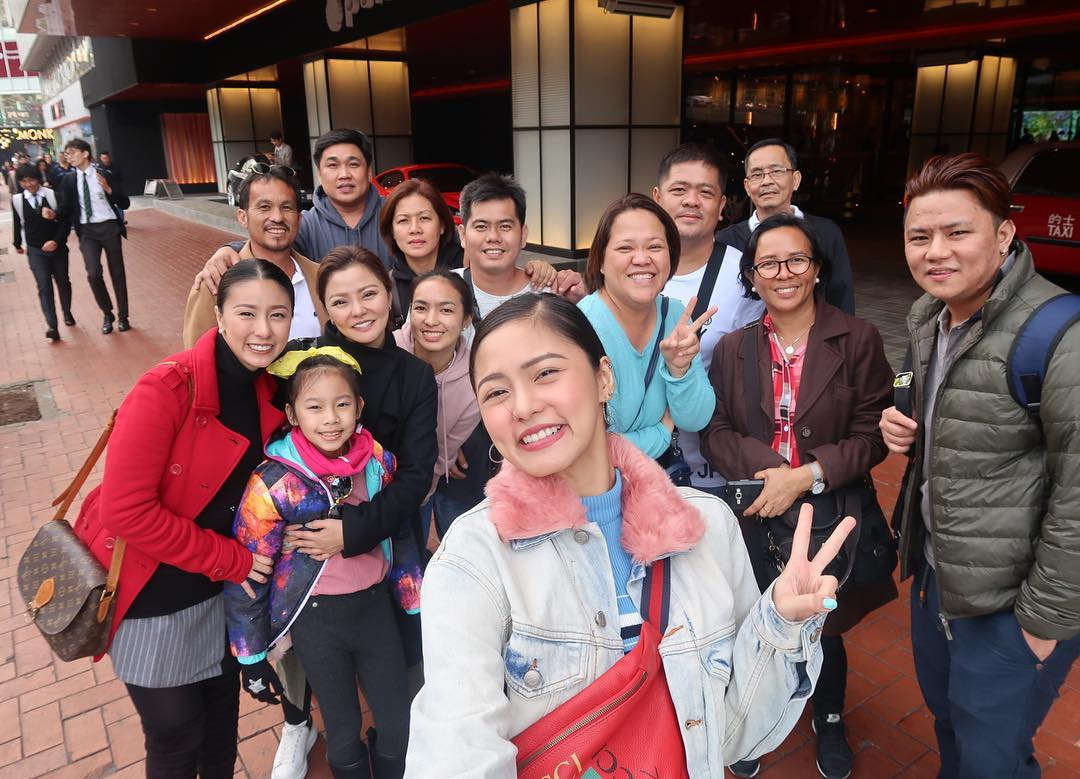 Kim Chiu & Family Haves Fun At Hong Kong