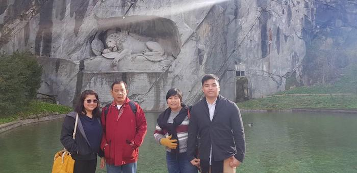 Mahinay Family Experiences Europe For The First Time
